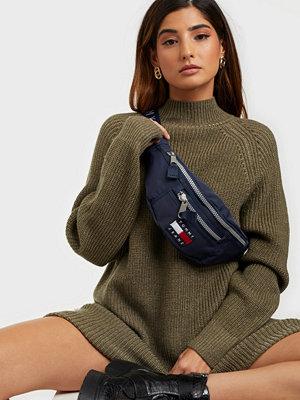 Tommy Jeans marinblå väska TJW HERITAGE BUMBAG