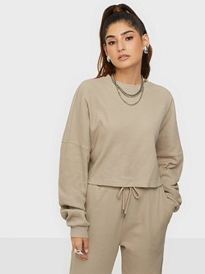 NLY Trend Cropped Structured Sweat