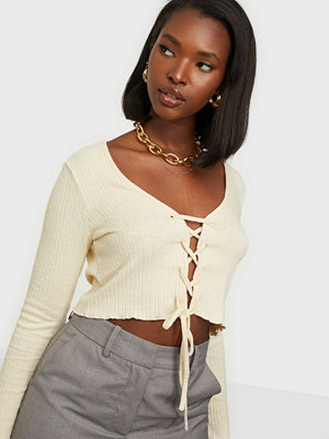 NLY Trend Lace Up Cardigan