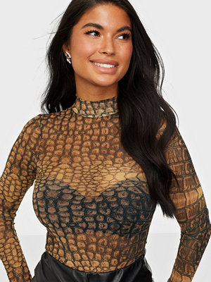 NLY One Mesh Turtleneck Body