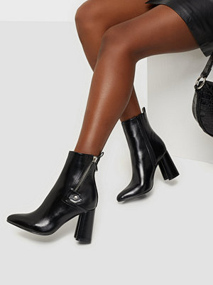 Only ONLBRODIE-2 PU ZIP HEELED BOOT