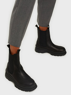 Boots & kängor - Selected Femme SLFLUCY LEATHER CHELSEA BOOT B