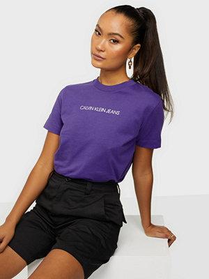 Calvin Klein Jeans SHRUNKEN INST MODERN SS TEE