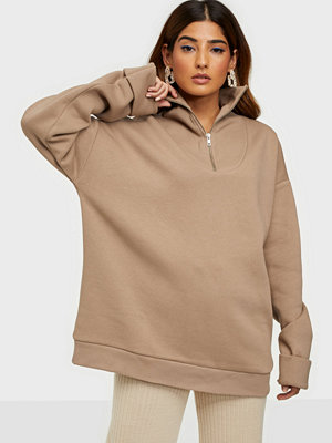 NLY Trend Chunky Zip Sweat