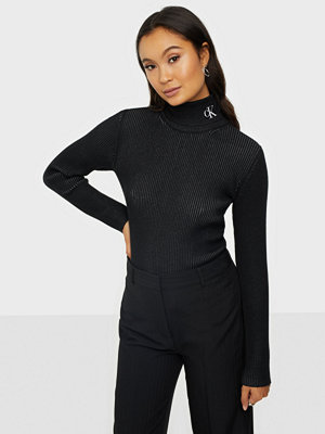 Calvin Klein Jeans RIB ROLL NECK WITH CK