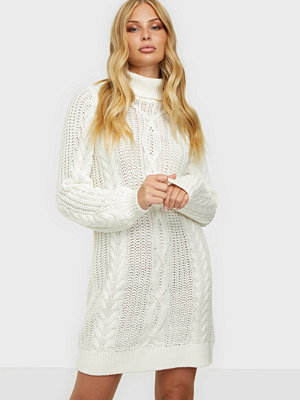 Object Collectors Item OBJAVA L/S ROLLNECK KNIT DRESS NOOS