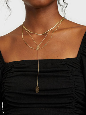 Pieces smycke PCSAGE COMBI NECKLACE