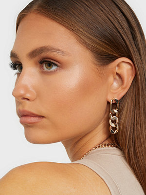 NLY Accessories smycke Figaro Chain Earrings