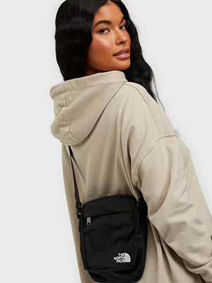 The North Face svart väska CONVERTIBLE SHOULDER BAG