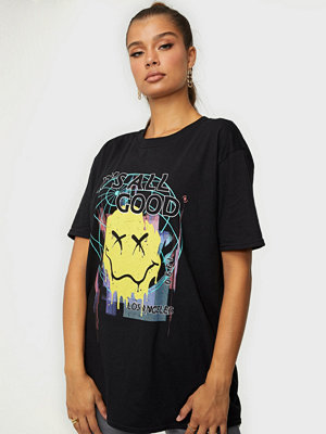 Missguided Graphic Oversized Tee