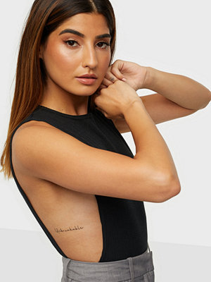 Missguided Rib Cut Out Side Body