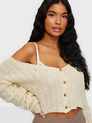 Missguided Tuck Sleeve Crop Cardigan
