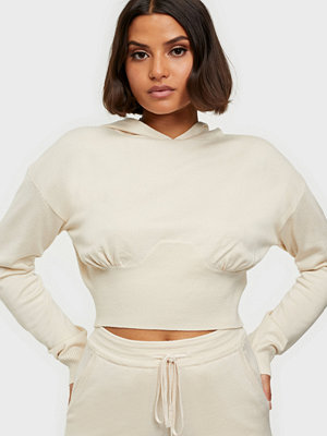 Missguided Corset Knit Hoodie