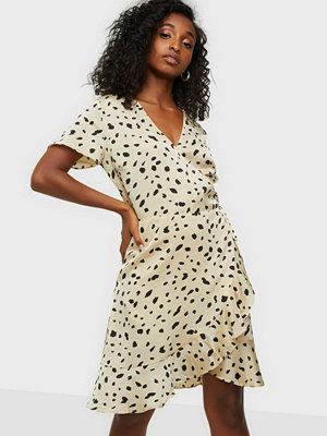 Neo Noir Malta Abstract Dot Dress