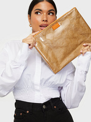 SILFEN beige väska Lea
