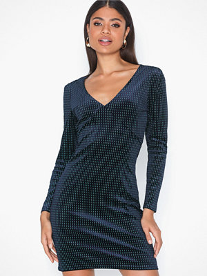 Only ONLLOVABLE L/S GLITTER BODYCON DRES