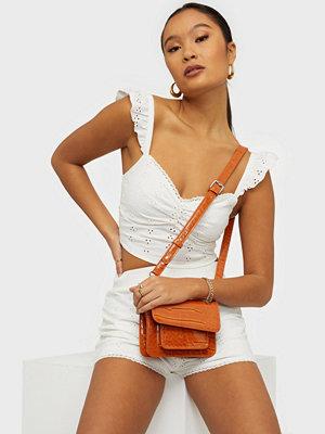 hvisk orange väska Cayman Mini