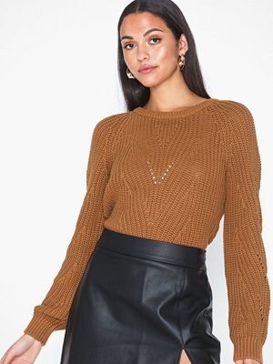 Object Collectors Item OBJCAMMY ARIANNA L/S KNIT PULLOVER