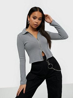 NLY Trend Double Zip Top