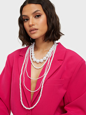 Pieces smycke PCPEARL COMBI NECKLACE D2D