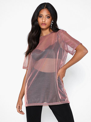 NLY Trend Shimmer Oversize Top