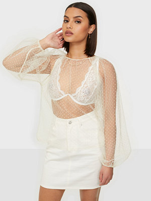 NLY Trend Gather Around Blouse