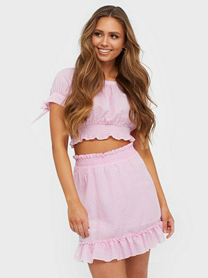 NLY Trend Sweet Structure Skirt