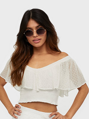 NLY Trend Smock Dobby Top