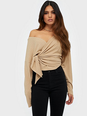 NLY Trend Luxurious Wrap Top