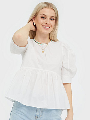 Only ONLKARLA S/S PUFF SLEEVE TOP WVN
