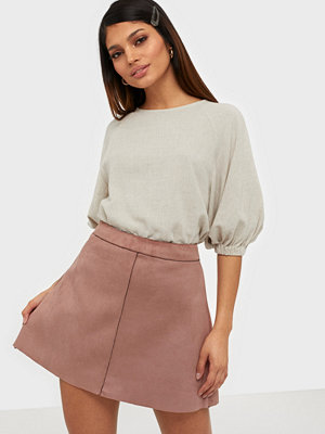 Only ONLLINEA FAUX SUEDE BONDED SKIRT CC