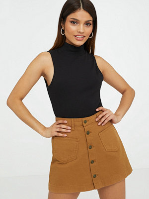Kjolar - Only ONLAMAZING HW CANVAS SKIRT PNT