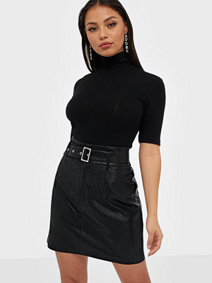Kjolar - Only ONLKIERA FAUX LEATHER SKIRT OTW