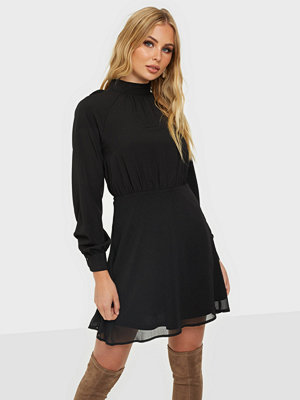 NLY Trend High Neck Tie Dress