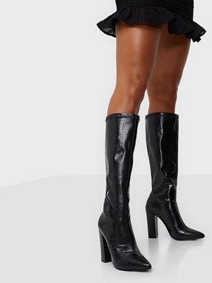 NLY Shoes Slip In Stretchy Boot