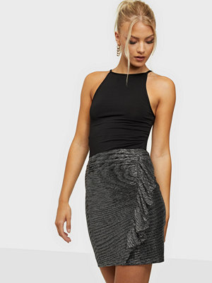 NLY Trend Metallic Mini Skirt