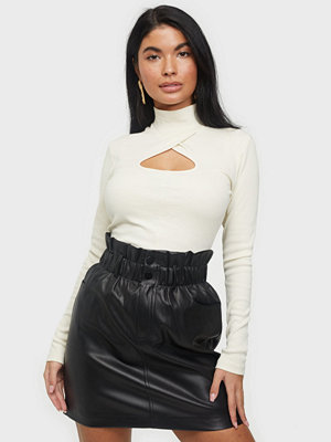 Only ONLMAIYA-MIRI FAUX LEATHER SKIRT CC