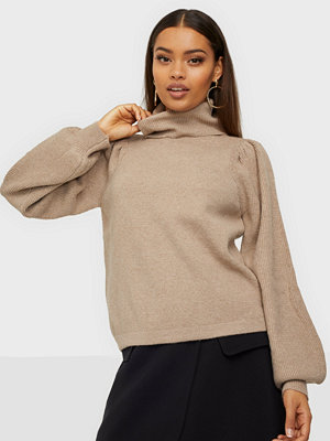 Pieces PCSALSA LS ROLL NECK KNIT BC