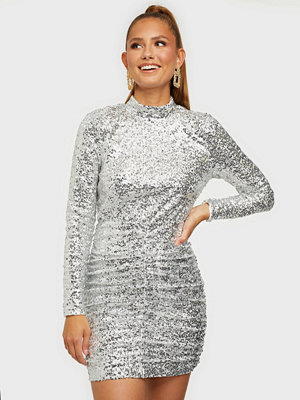 NLY Trend High Neck Ruche Dress