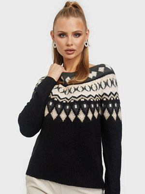 Only ONLAMBER JAQUARD L/S PULLOVER CC KN