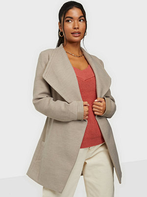 Vero Moda VMHAILEY CHECK LONG WOOL JACKET GA