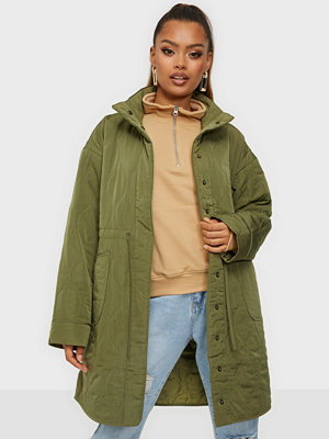 Y.a.s YASWENNA LS QUILTED COAT FT