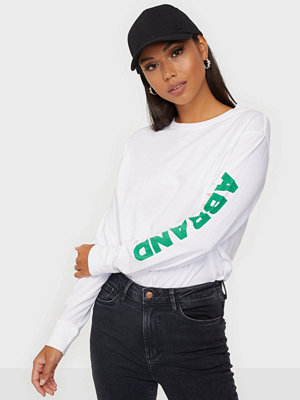 Toppar - Abrand Jeans A L/S OVERSIZED TEE