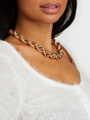 NLY Accessories smycke Chunky Twisted Necklace