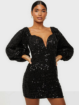 Rare London Sequin Lurex Dress