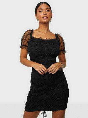 Love Triangle Black Caviar Dress
