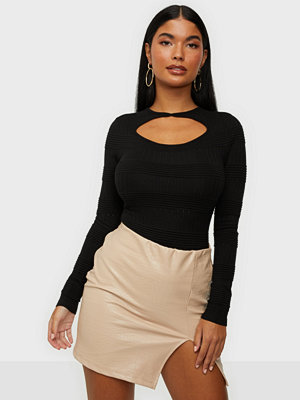 Missguided Texture Cut Out Body