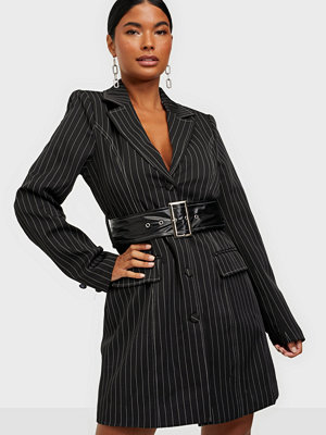 Missguided KXMG Pinstripe Blazer Dress