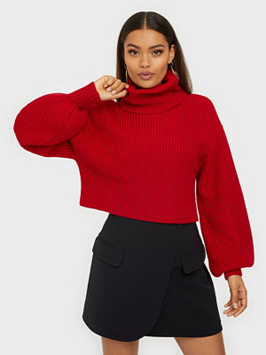 NLY Trend Cropped Turtleneck Knit