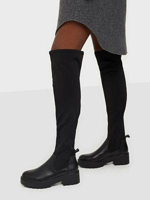 Boots & kängor - ONLY SHOES ONLBRANKA-4 PU LONG SHAFT BOOT